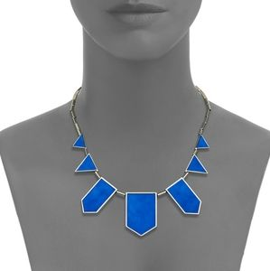 House of Harlow 1960 Suede Station Necklace